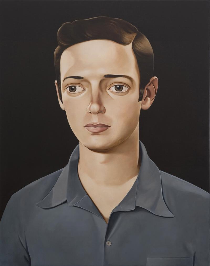 Glenn Fuhrman, 2011 Acrylic on linen 39.4 x 31.5 inches