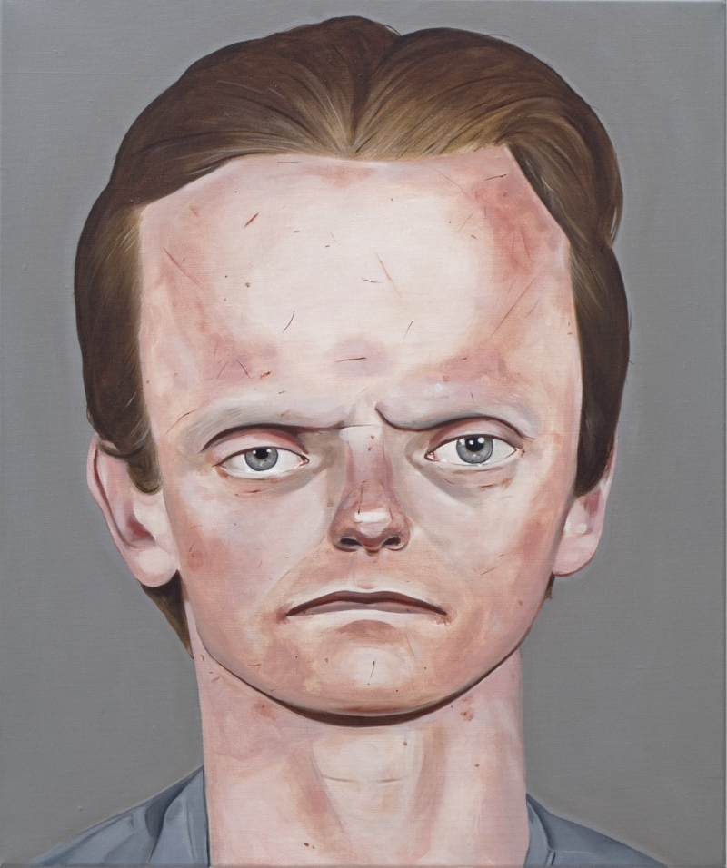 Eddie Vaughn, 2004 Acrylic on linen 19 11⁄16 inches x 23 5⁄8 in (50 x 60 cm)