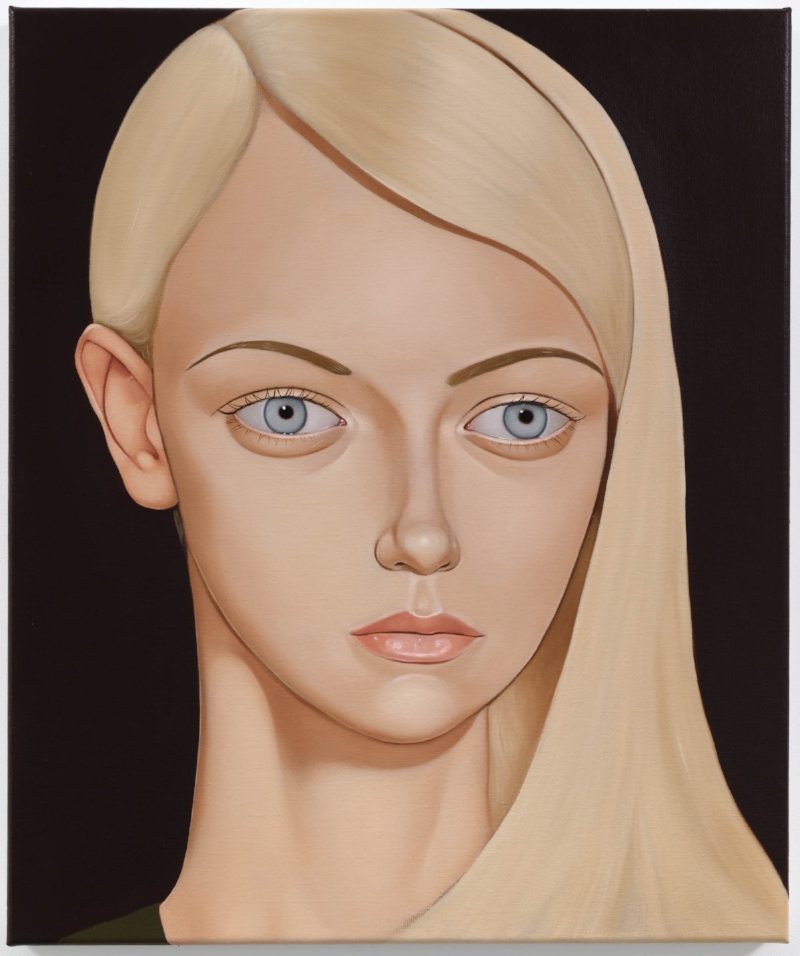 Barbara Robbins, Westall High, 2014 Oil on linen 23.6 x 19.7 inches Photo: Jason Mandella