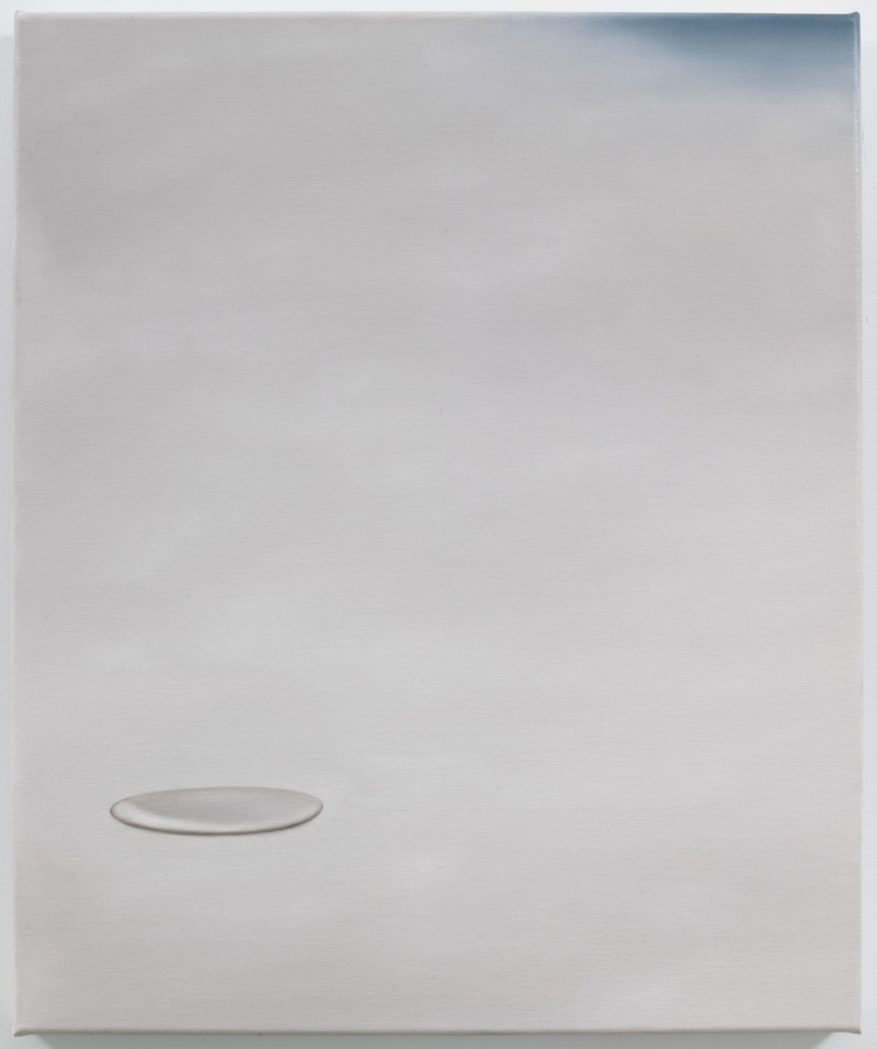 Kirtland Air Force Base, 1980, 2014 Oil on linen 23.6 x 19.7 inches Photo: Jason Mandella