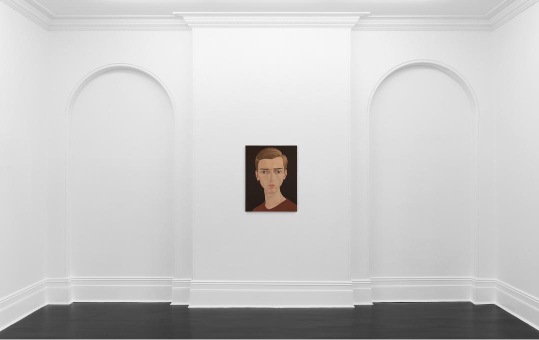 Exhibition view: Peter Stichbury, 'Joseph Geraci, 1977', 2019. Fine Arts, Sydney