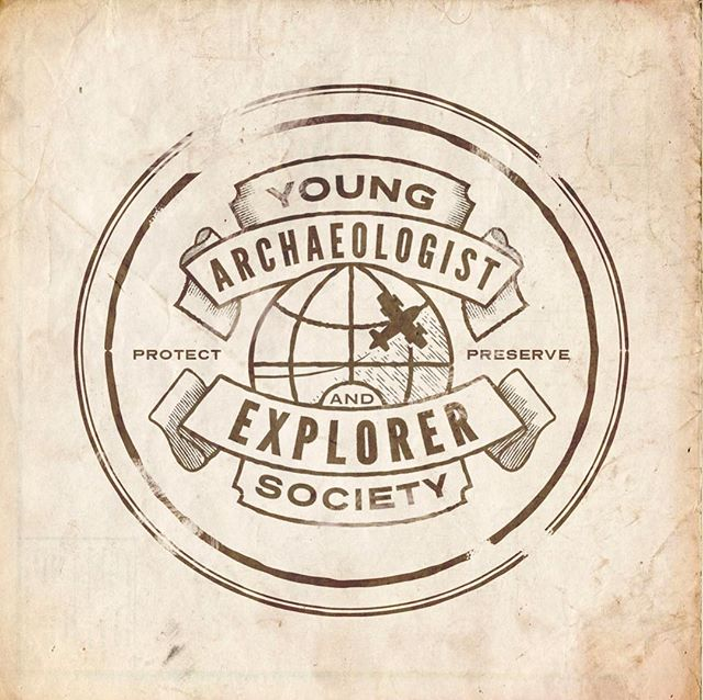 Part of a fun project I've been working on over the last couple months. I'll be posting  lots more soon! ⠀⠀⠀⠀⠀⠀⠀⠀⠀⠀⠀⠀ This is the seal of a fictional explorer society for a scavenger hunt experience our team is developing. We're designing this to live alongside a King Tut exhibit as a way to further teach kids about archaeology. Excited to share more! ⠀⠀⠀⠀⠀⠀⠀⠀⠀⠀⠀⠀ #logo #brand #dribbble  #graphicdesign #explorer
