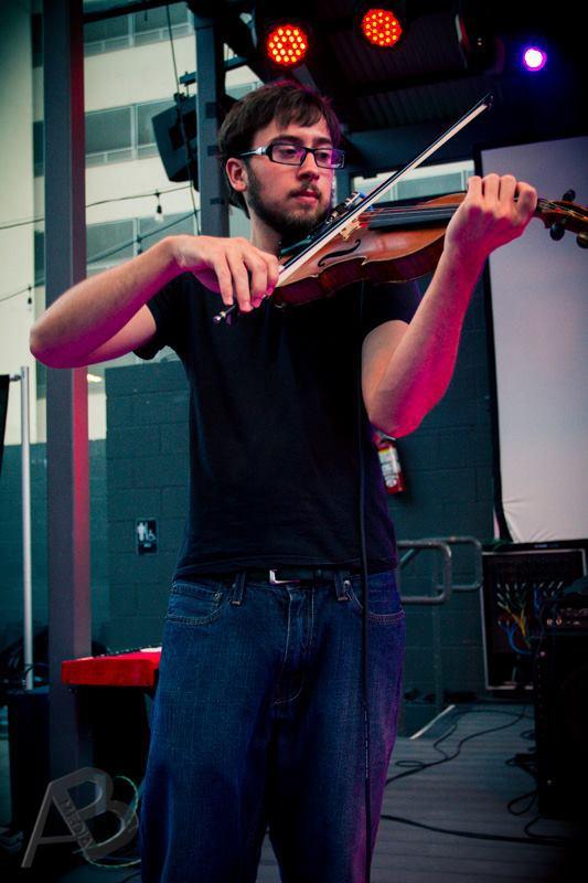 Josh Terry Performing Violin