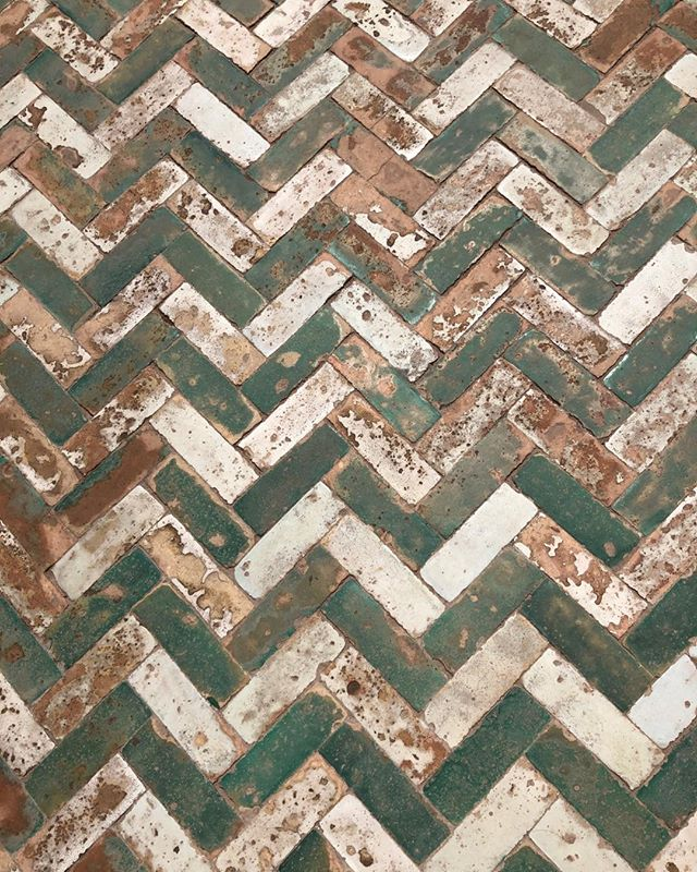 Chevron and herringbone flooring design is not trendy! It's existed from the beginning in every country as a decorative historical way to lay tile  use it for creating texture change and drama. Wood flooring or tile.... these patterns are here to stay!