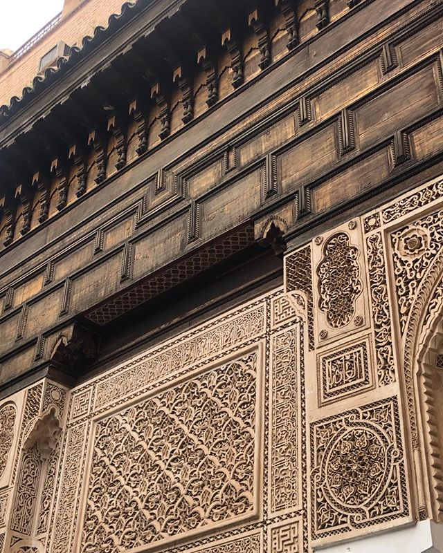 Morocco inspires me everywhere I look. Though I love modern ldoesnt mean I see these carvings and details without complete adoration.