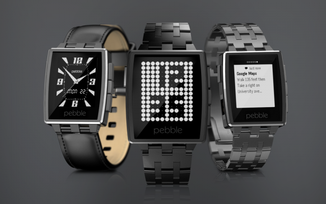 Pebble smart Watch. [v2. Steel]