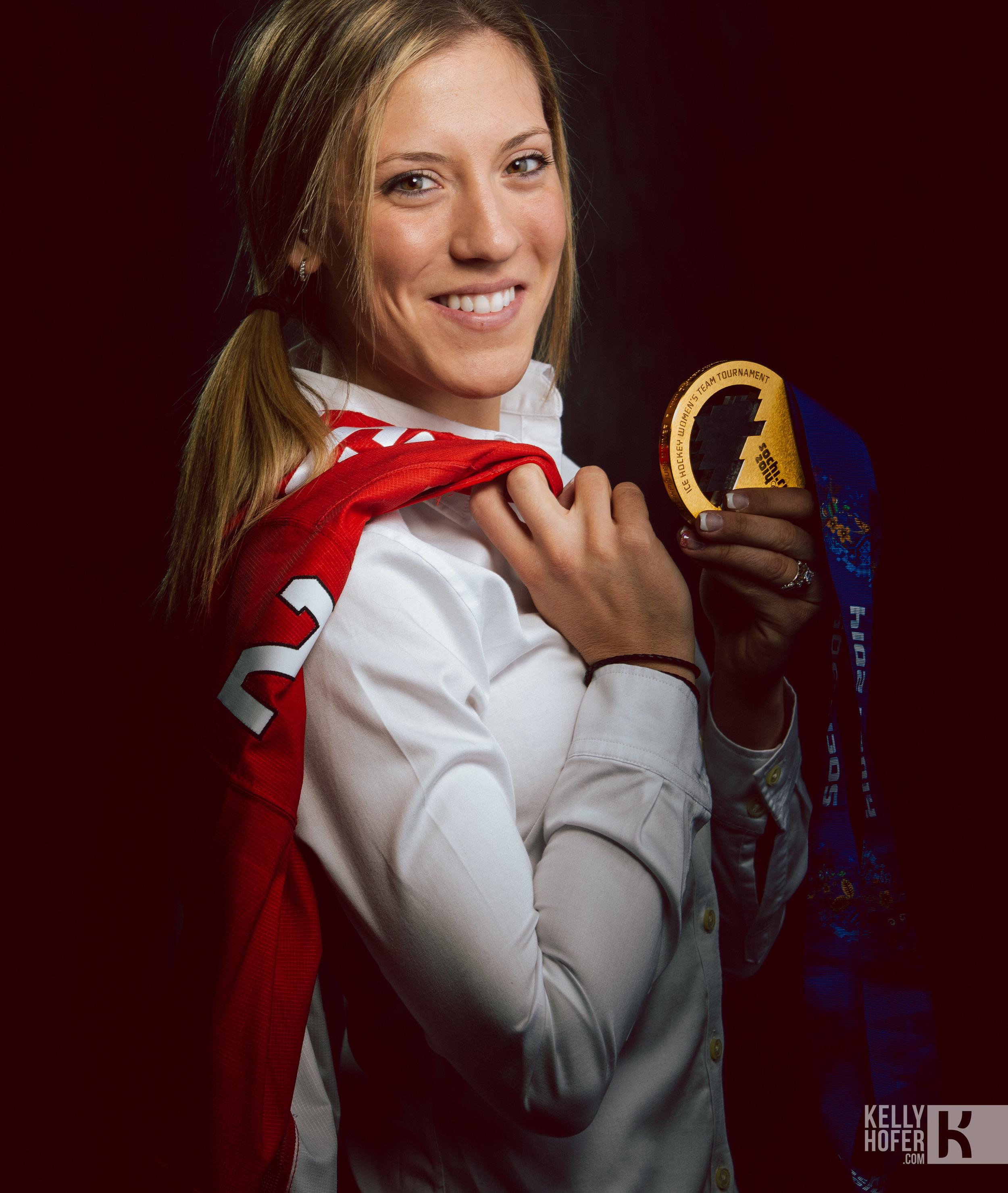 Meghan Agosta-Marciano:Image copyright: Hockeycanada.ca