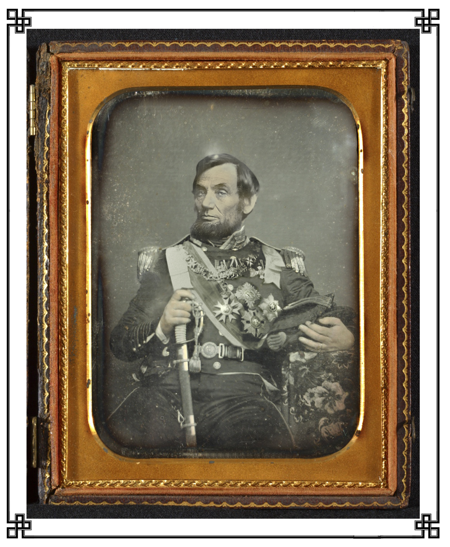 "Normal   0           false   false   false     EN-US   X-NONE   X-NONE                                                                                                                                                                                                                                                                                                                                                                  His Extraordinary Majesty Abraham the First, daguerreotyped here shortly after his coronation as first Tyrannos of the United States and immediately prior to the issuance of his celebrated proclamation on the liquidation of the slave-owning class, was perhaps best beloved for his pithy homilies, well-illustrated by such chestnuts as ""call a man something often enough and, sooner or later, he'll oblige you.""     Normal   0           false   false   false     EN-US   X-NONE   X-NONE                                                                                                                                                                                                                                                                                                                                                                    /* Style Definitions */  table.MsoNormalTable 	{mso-style-name:""Table Normal""; 	mso-tstyle-rowband-size:0; 	mso-tstyle-colband-size:0; 	mso-style-noshow:yes; 	mso-style-priority:99; 	mso-style-parent:""""; 	mso-padding-alt:0in 5.4pt 0in 5.4pt; 	mso-para-margin-top:0in; 	mso-para-margin-right:0in; 	mso-para-margin-bottom:10.0pt; 	mso-para-margin-left:0in; 	line-height:115%; 	mso-pagination:widow-orphan; 	font-size:12.0pt; 	font-family:""Times New Roman"",""serif"";}"