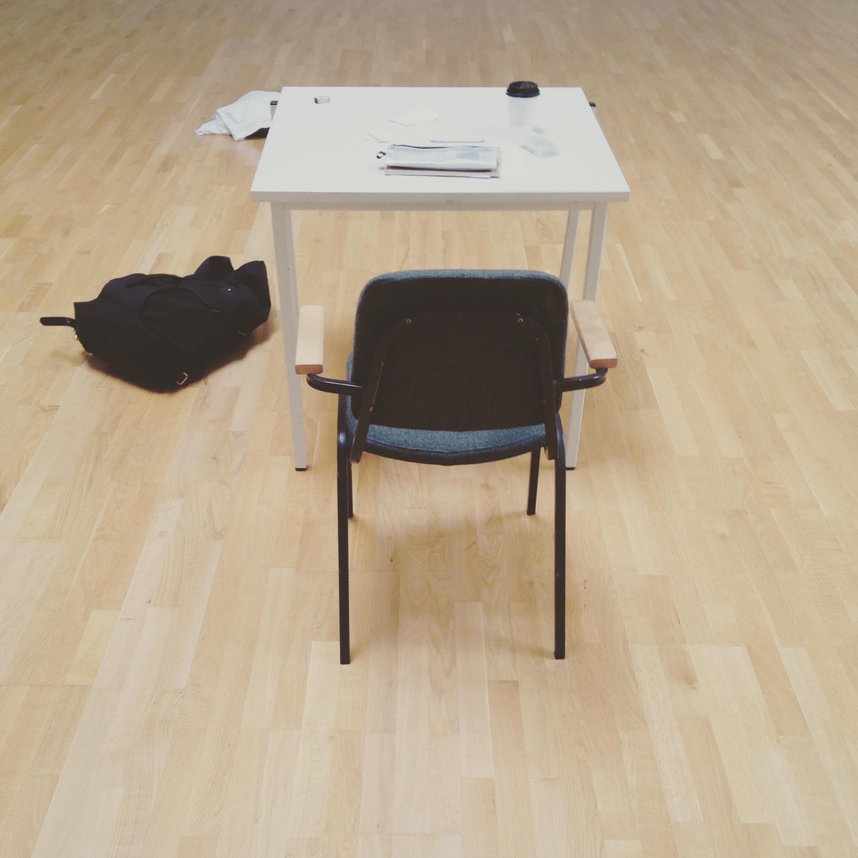 Common rehearsal room scene