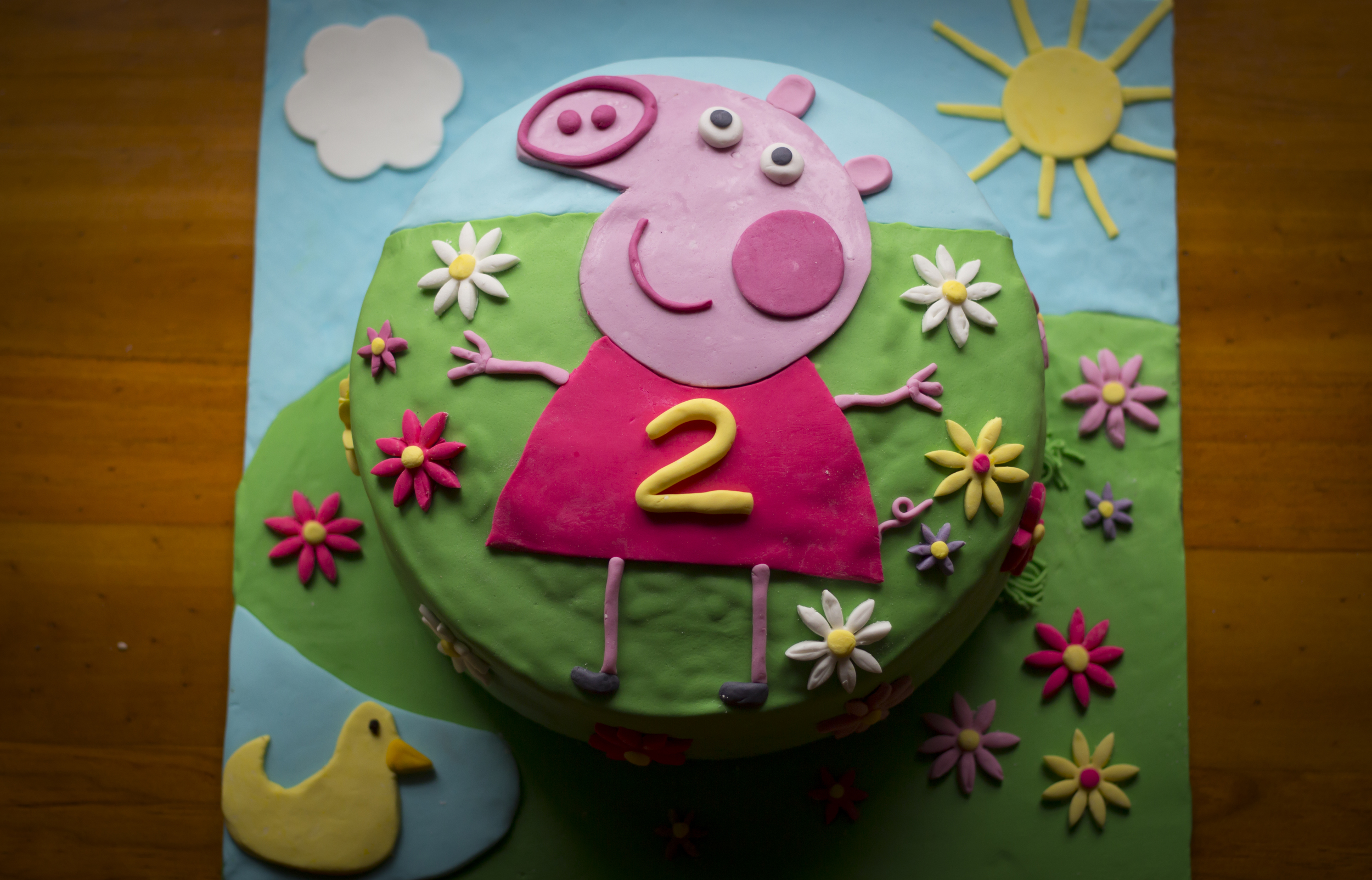 Tammy's 2nd birthday cake whipped up by the very talented Natasha Brunton from  Precious Foods ...oh tasted delish too!