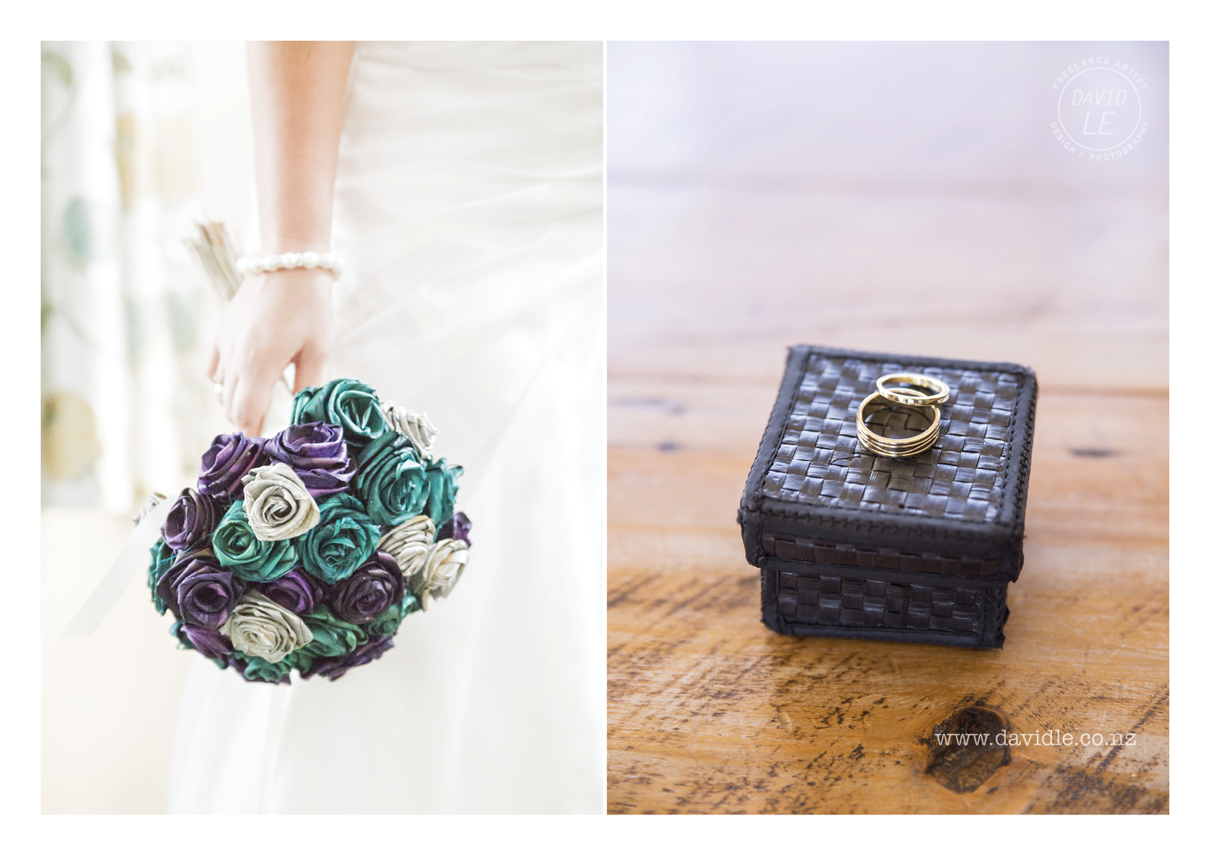 Every wedding needs A/ a bouquet and B/ some rings, sneak peak from Racheal & Wills Wedding!