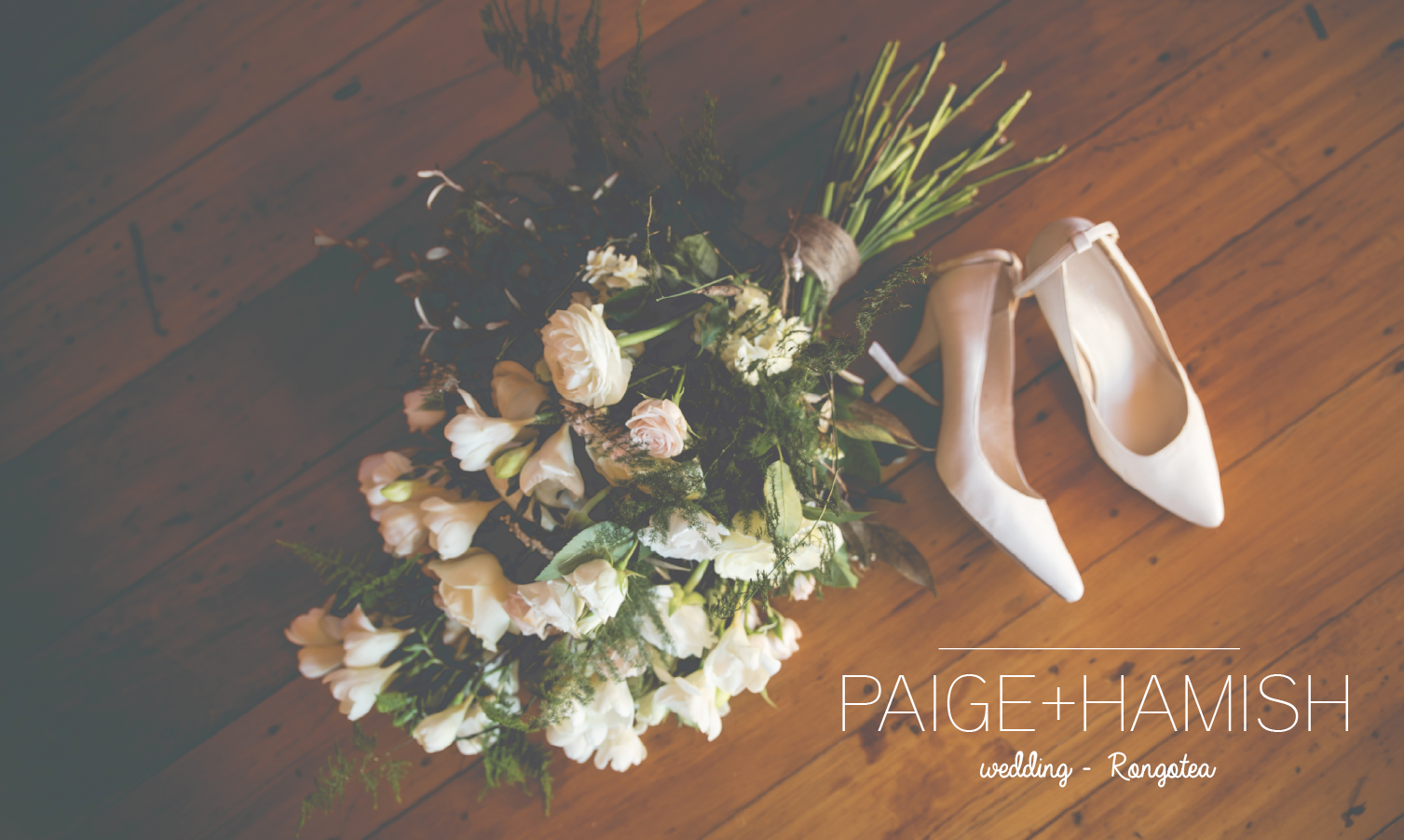 Check out Paige & Hamish's winter wedding goodness!