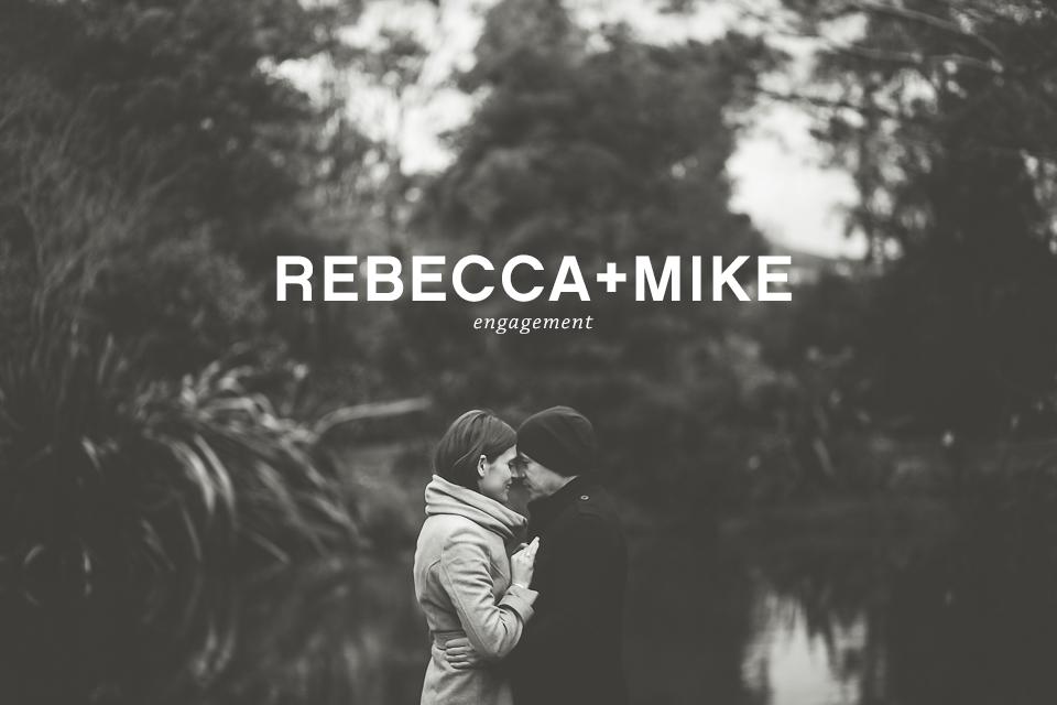 Checkout Rebecca + Mike's mid winter e-shoot