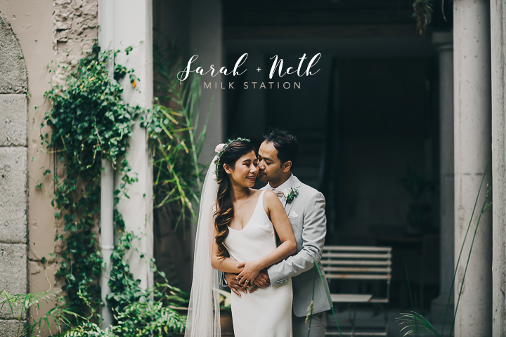 Sarah + Neth's swoon worthy wedding at the Milk Station, Otaki