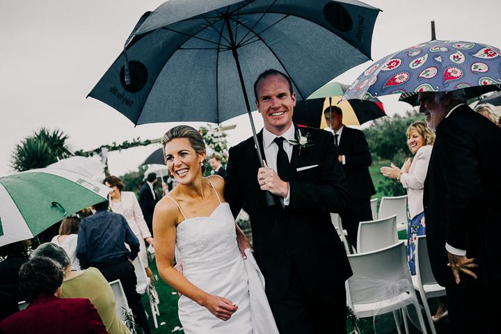 Kate + Pearce's backyard Olive Grove wedding
