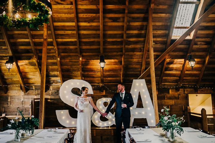 Check out the wedding of Sam + Amba at Tarureka Estate
