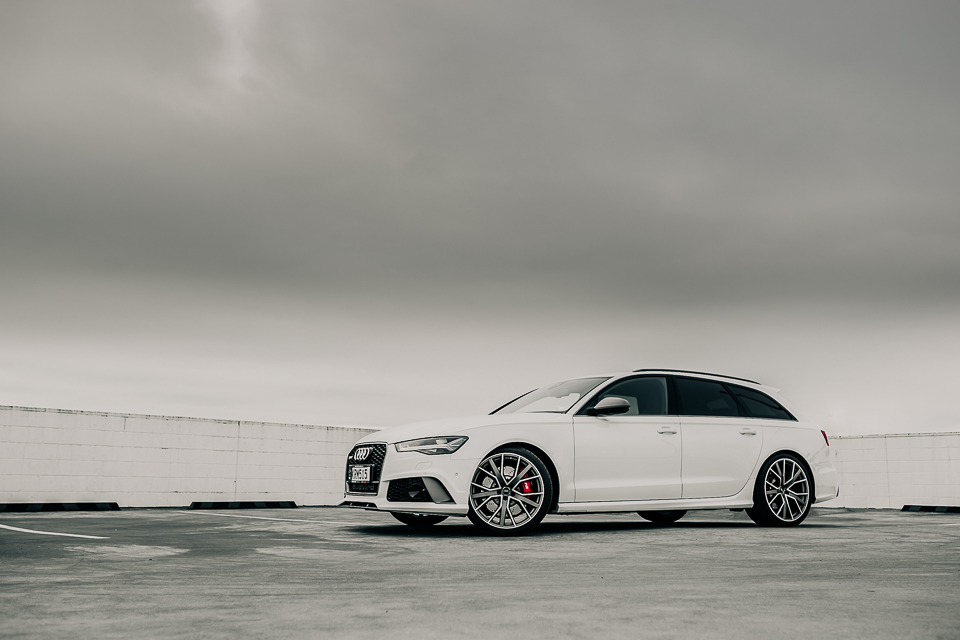 Audi RS6 car shoot