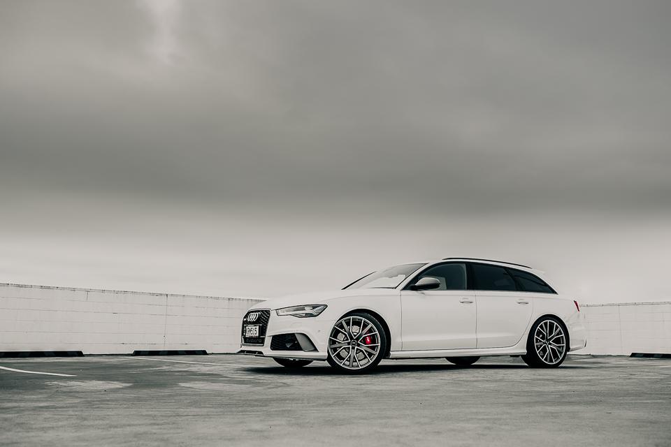 Audi RS6 car shoot