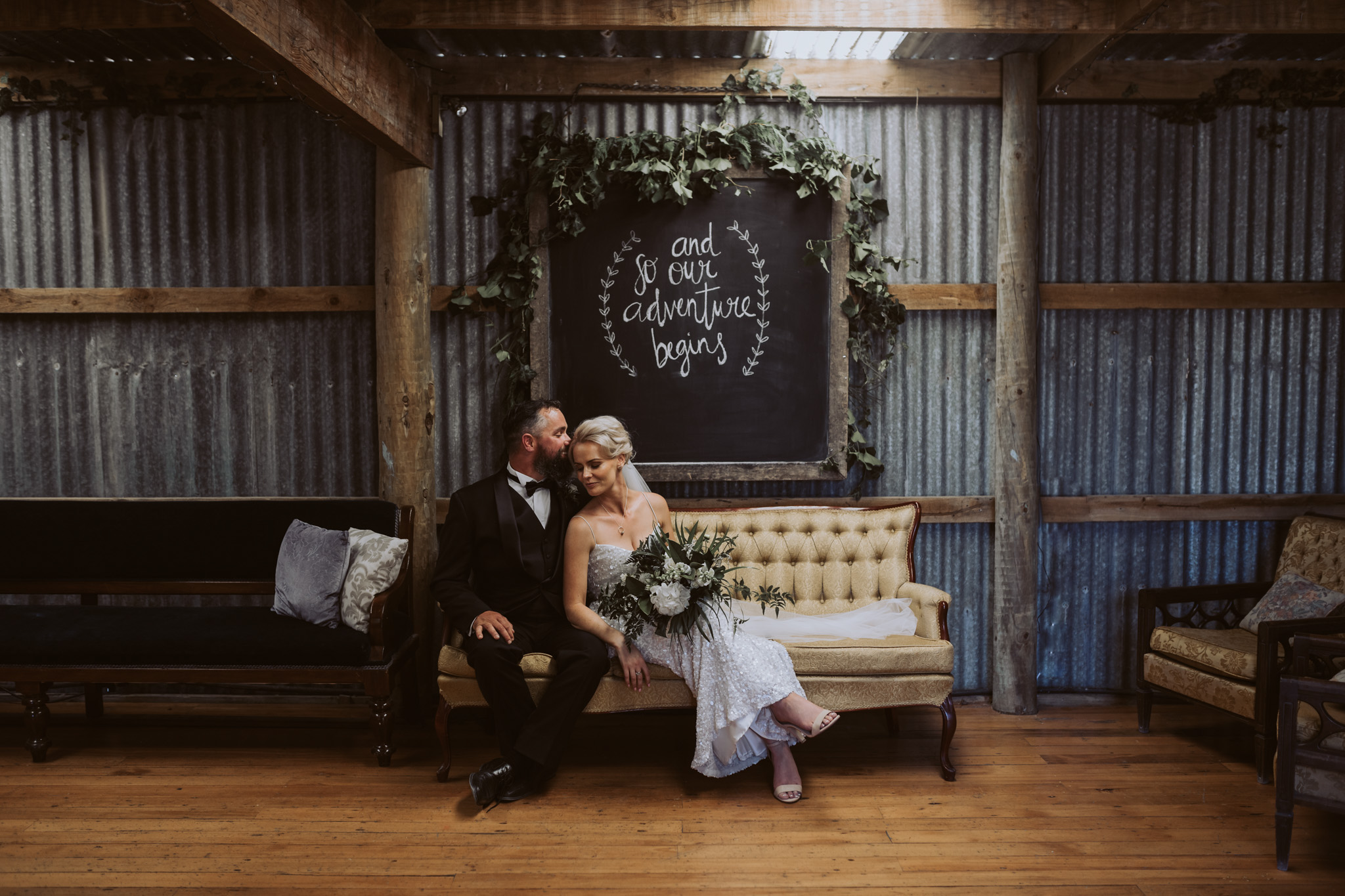 Amy + Joel // Cossars Wineshed