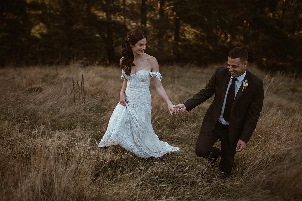 Brooke + Cameron - Glenview Country Gardens
