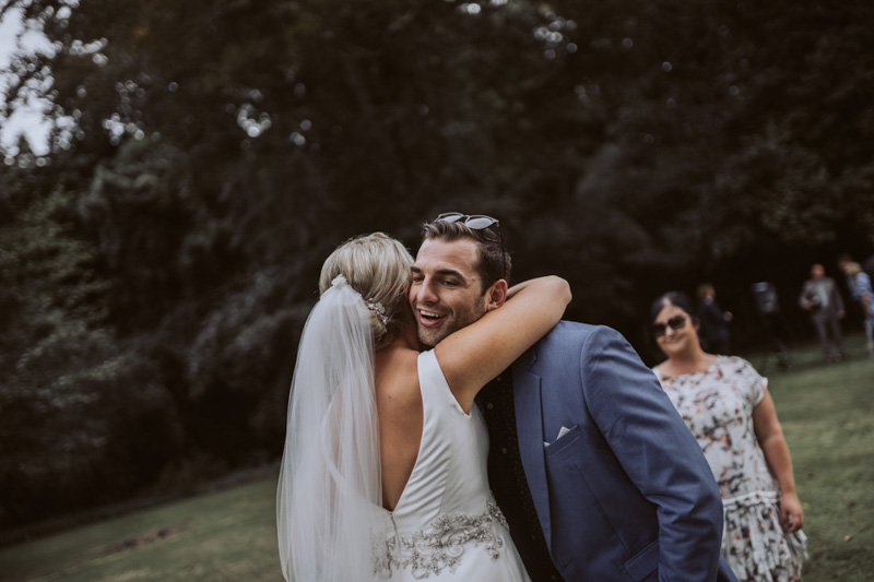Georgie + Glenn // Backyard Wedding