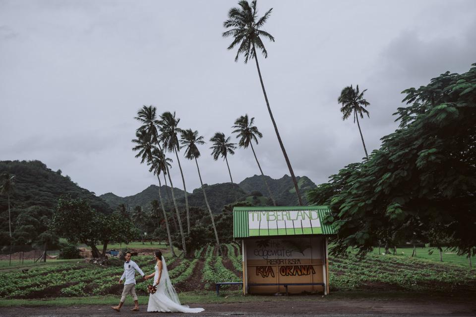 Tim + Jade // Destination Wedding