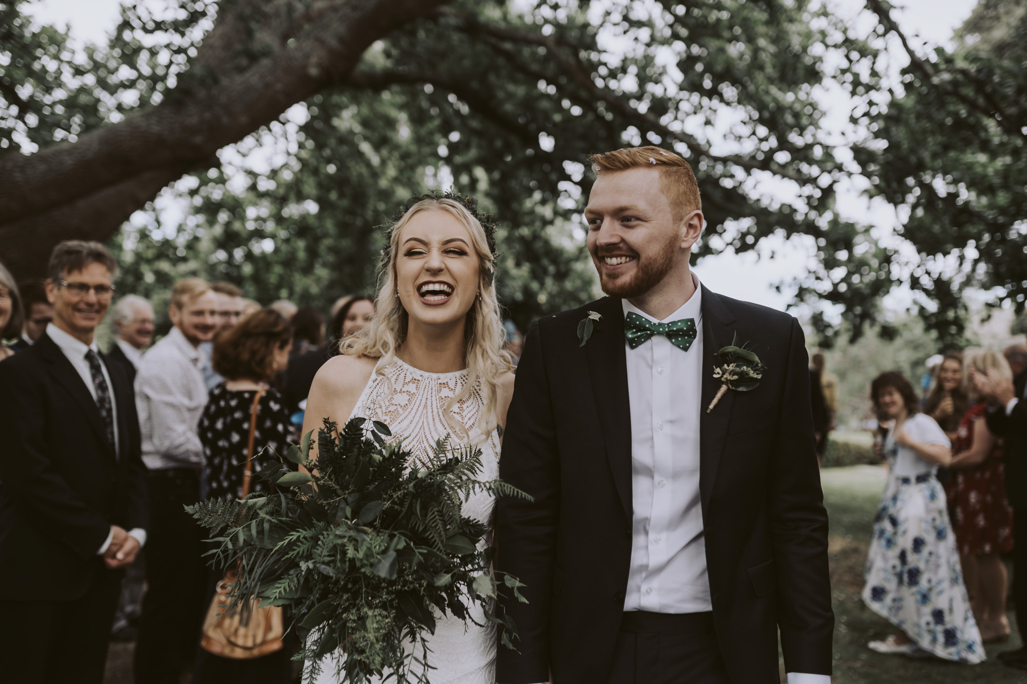 Lydia + Sheridan 's vegan wedding is featured over at  NZ Weddings Magazine