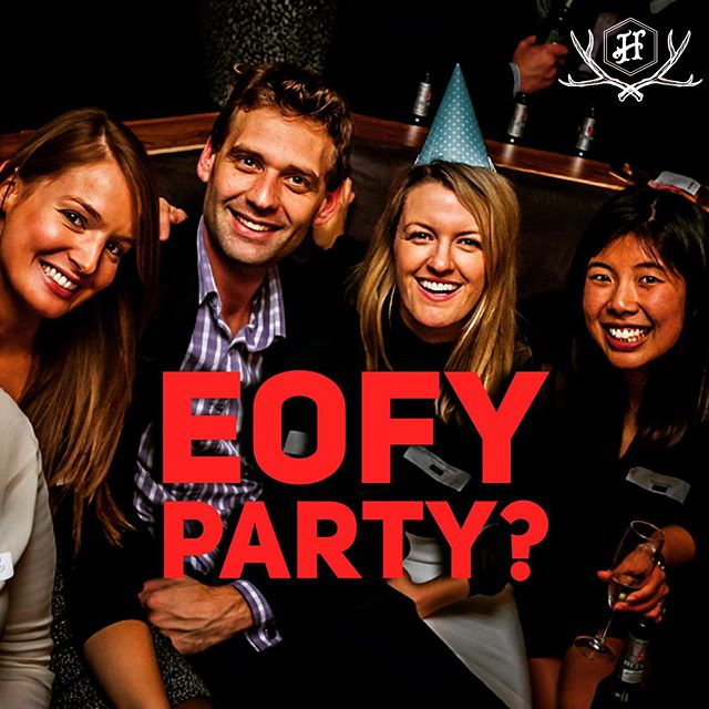 Book your EOFY party before June 30 and get $200 of free catering! Lunch from $15pp Bev packages from $29pp! We can cater for groups of 20-200 people 7 days a week! Email functions@highlanderbar.com.au for more details & bookings!