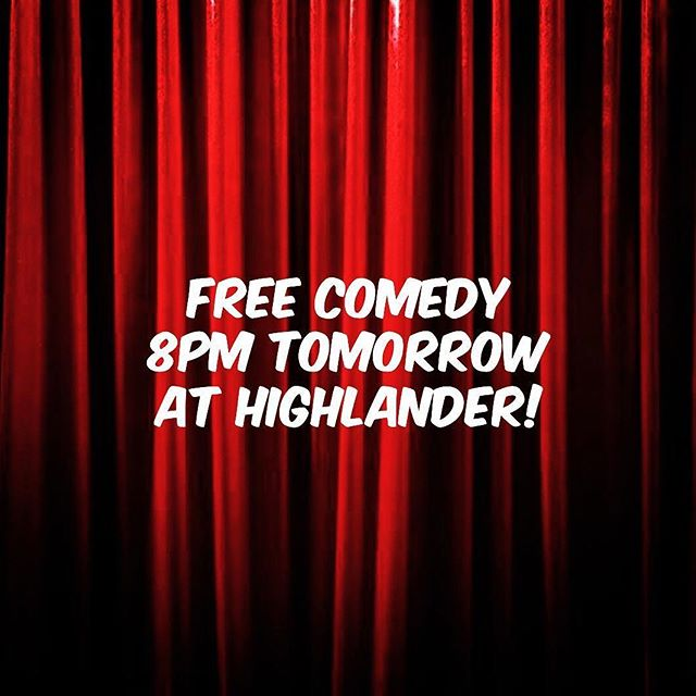 @freecomedy.australia tomorrow night from 8pm! PLUS all our new Tight-ass Tuesday deals including 2-4-1 wee bites to munch on while you enjoy your free laughs! ❤️😁
