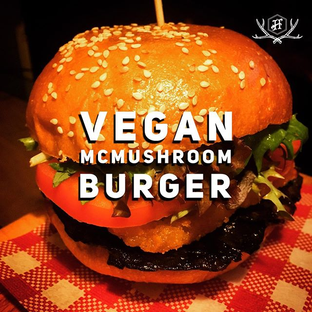 New buns means new burger options! We now have a #Vegan version of our McMushroom burger! Dairy free coconut milk brioche 🥥, thyme portobello mushroom 🍄, tomato 🍅, leaves 🌱, hash brown 🥔 & HP! Add fries 🍟 and a beer 🍺 and try this bad boy for just $15 either for lunch 12-3pm Wednesday to Friday or as part of our $15 burger 🍔 and beer 🍺 #footyfeeds deal any time you pop by before or after the AFL with your ticket on game day! (Available for $18 with fries off the regular too!).