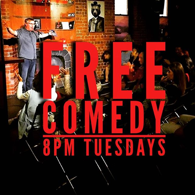 Free comedy tonight 8pm! Short sharp shows by the pros followed by some fresh open mic acts! Fancy giving stand up a shot? Limited sign ups from 7:30pm shows start 8pm upstairs in the Library. NEW Tight-ass Tuesday deals all night!