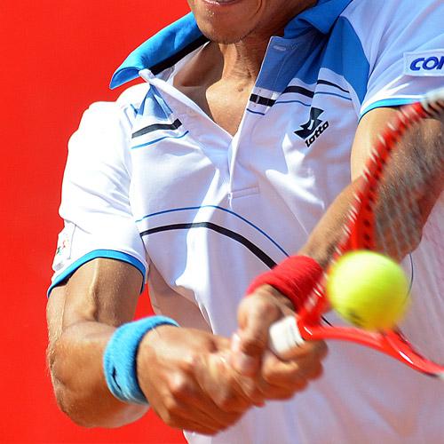 TENNIS - Better ball control.