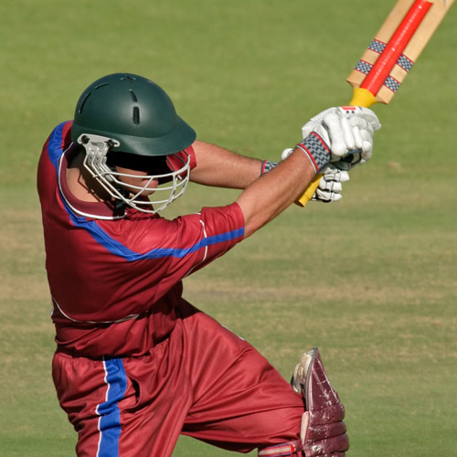 CRICKET - Bowling, batting, catching - all improve with grip strength.