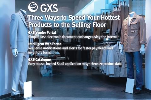 GXS Tradeshow Booth