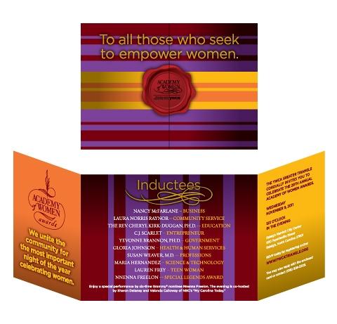 Academy of Women Awards Invitation