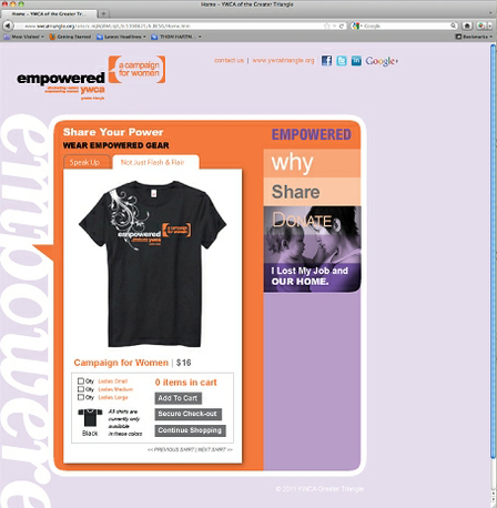 Campaign for Women Initiative Website