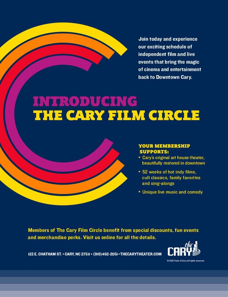Film Circle Full Page Display Ad