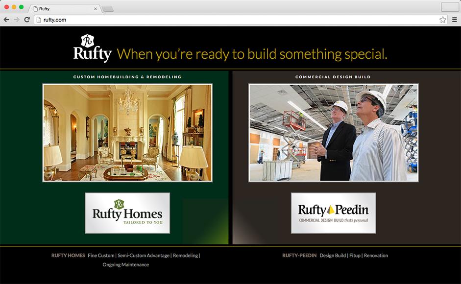 Rufty Homes & Rufty Peedin Landing