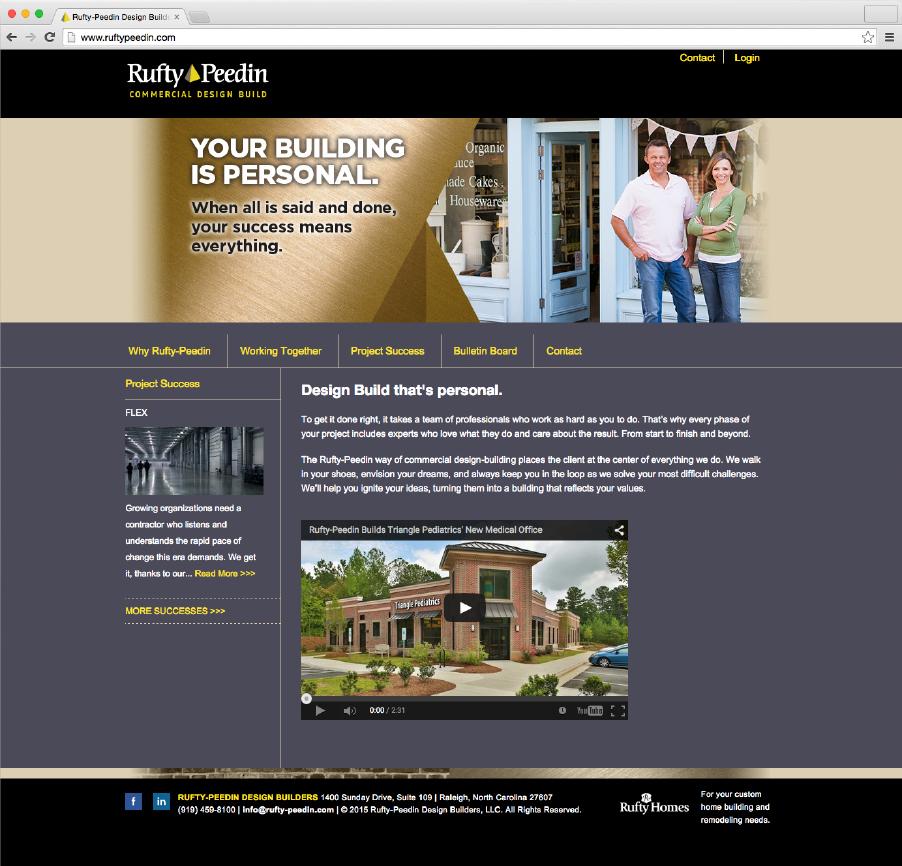Rufty Peedin Homepage