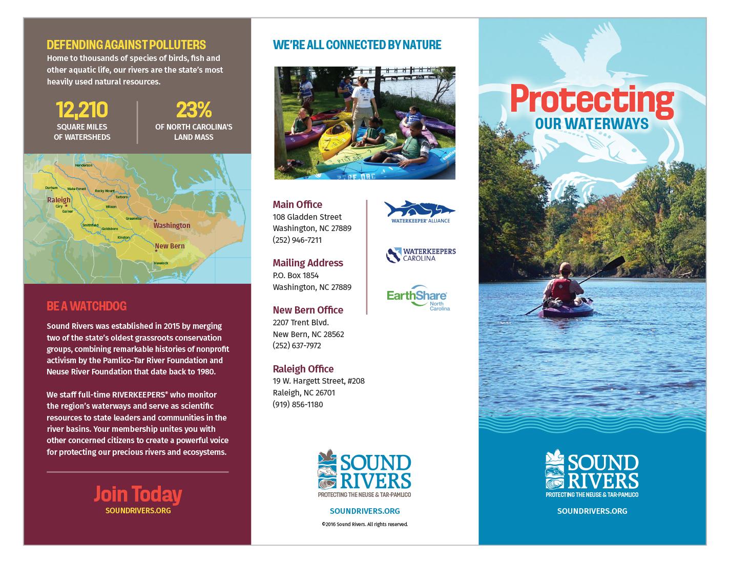 Donation Brochure Outside