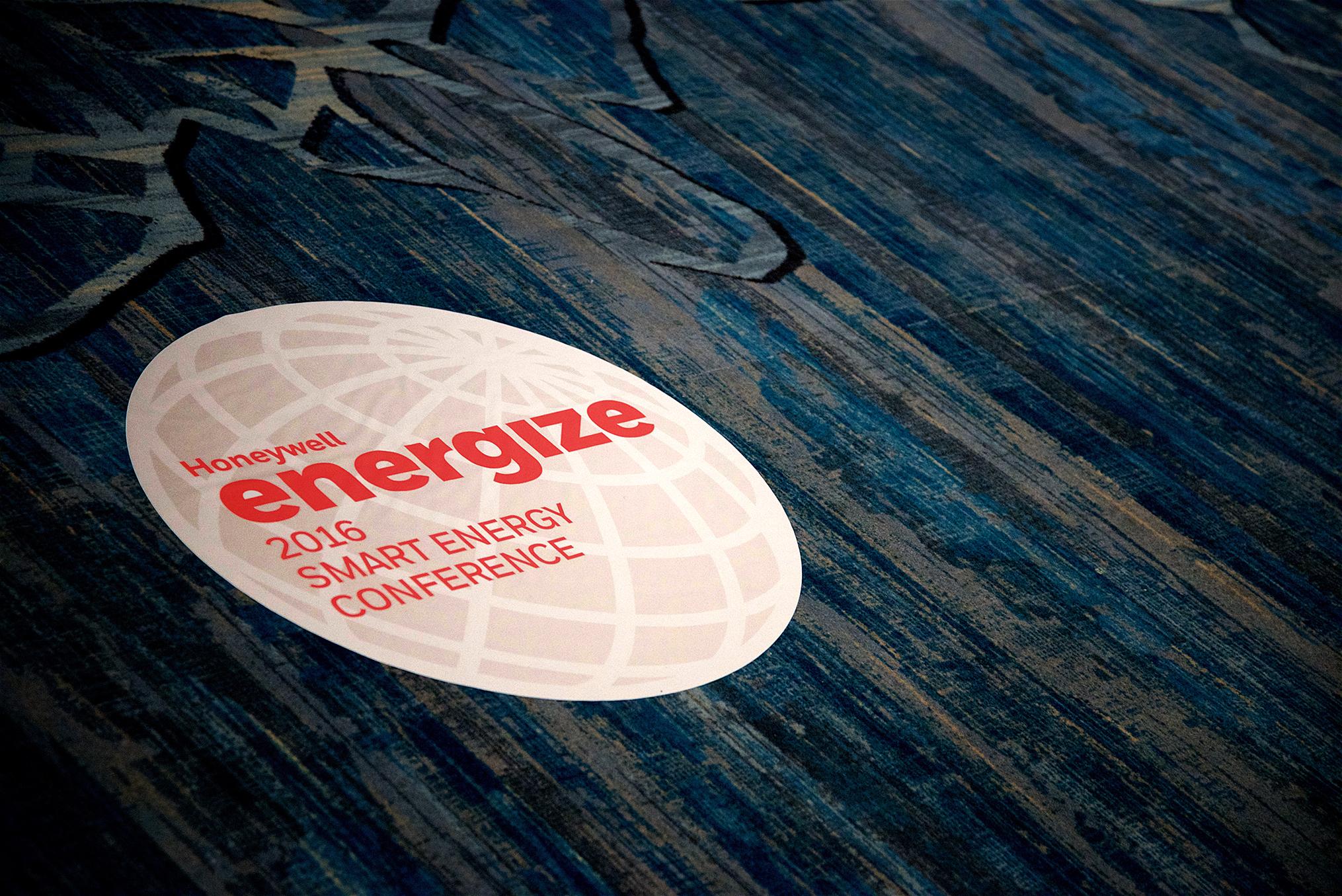 Floor Decal Honeywell Energize 2016 Orlando FL