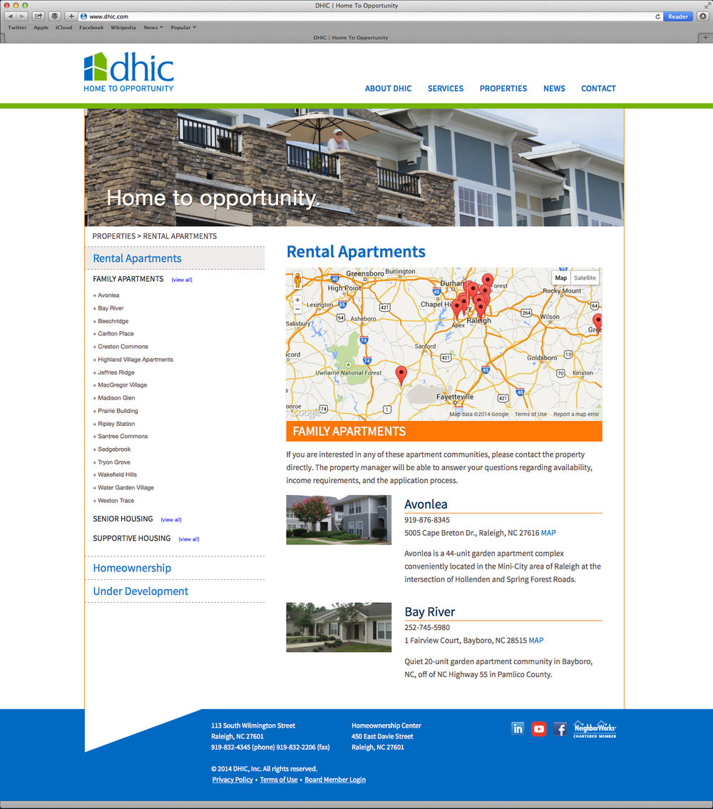 Website Property Search