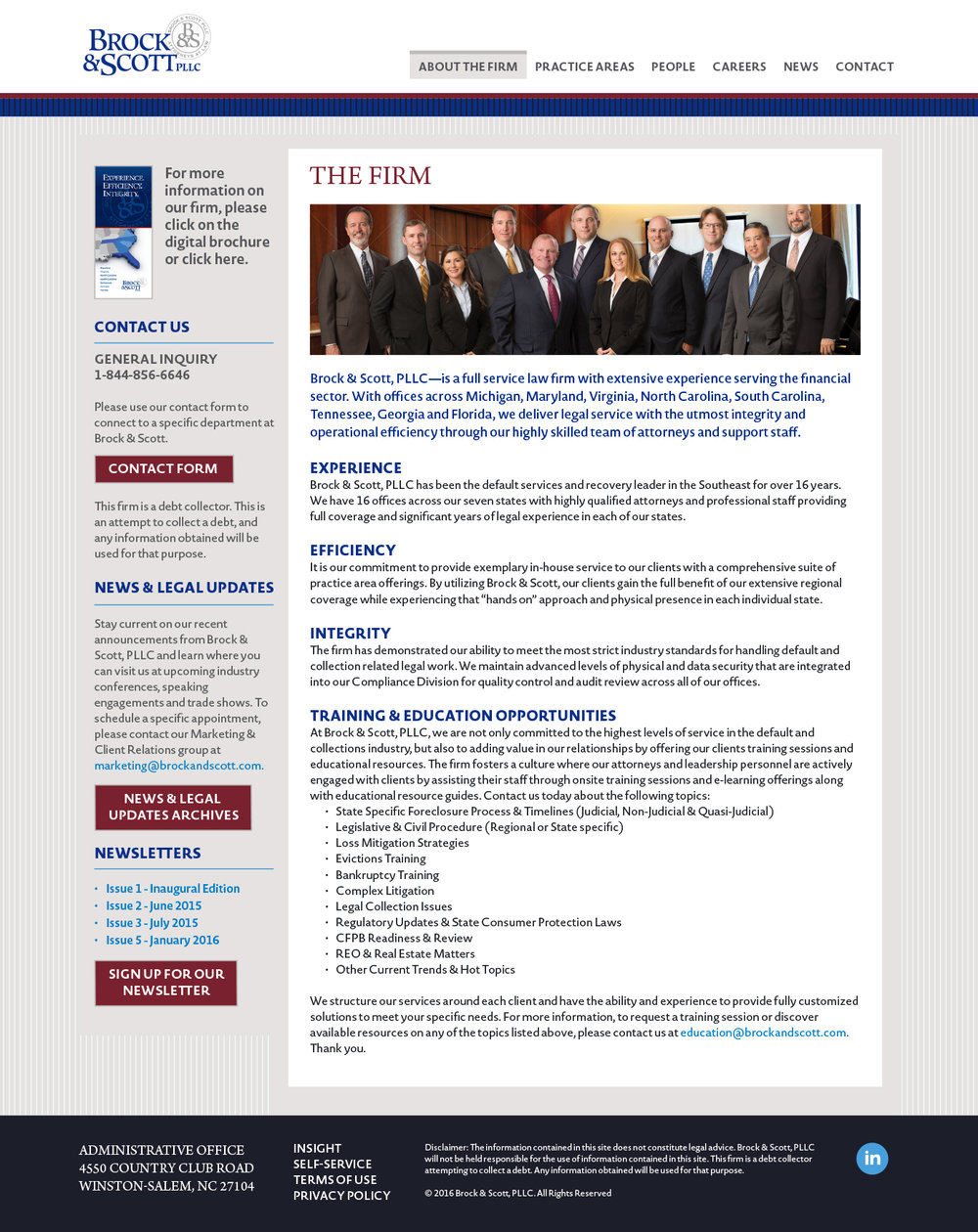 Website - The Firm