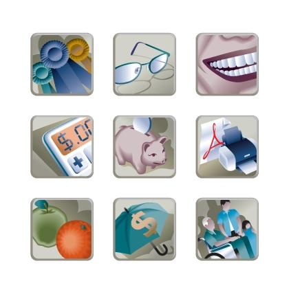 Asparity Decision Icons