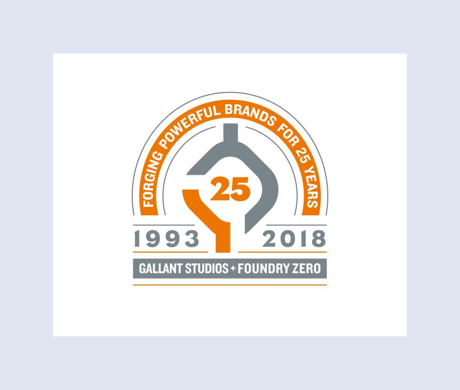 Foundry Zero 25th Anniversary Logo