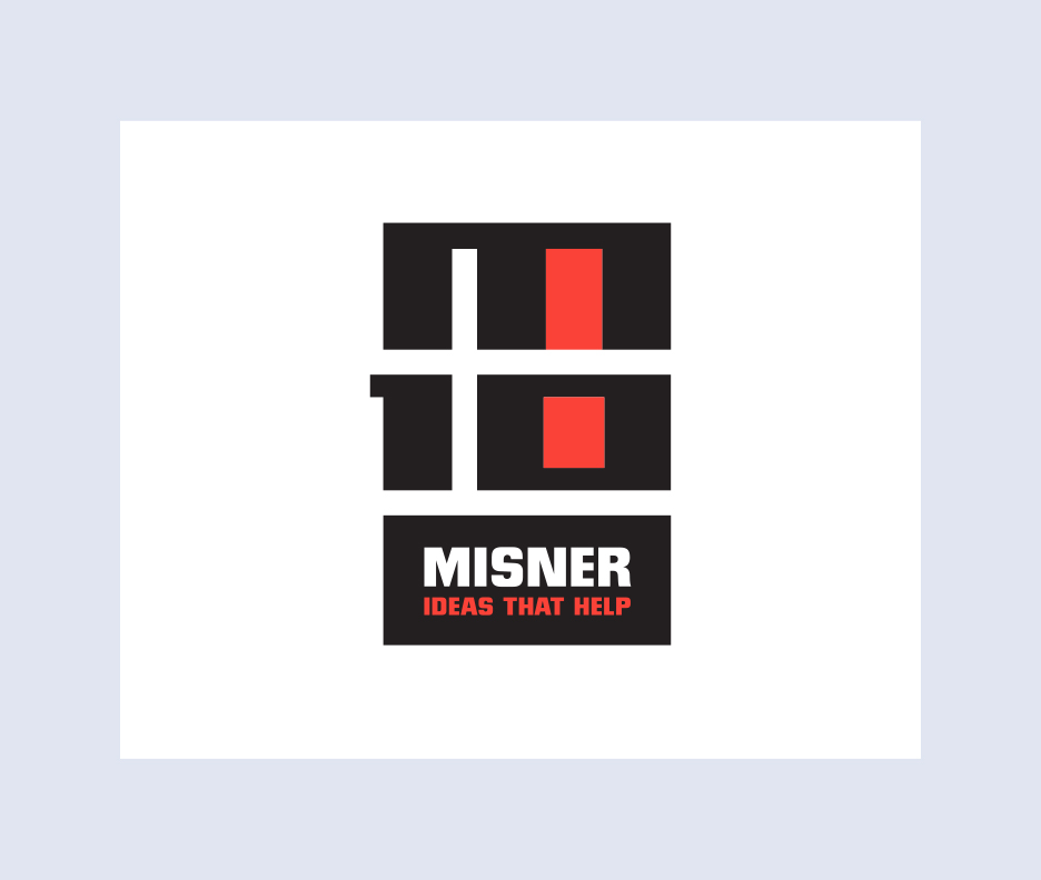 Misner Public Relations 10th Anniversary Logo