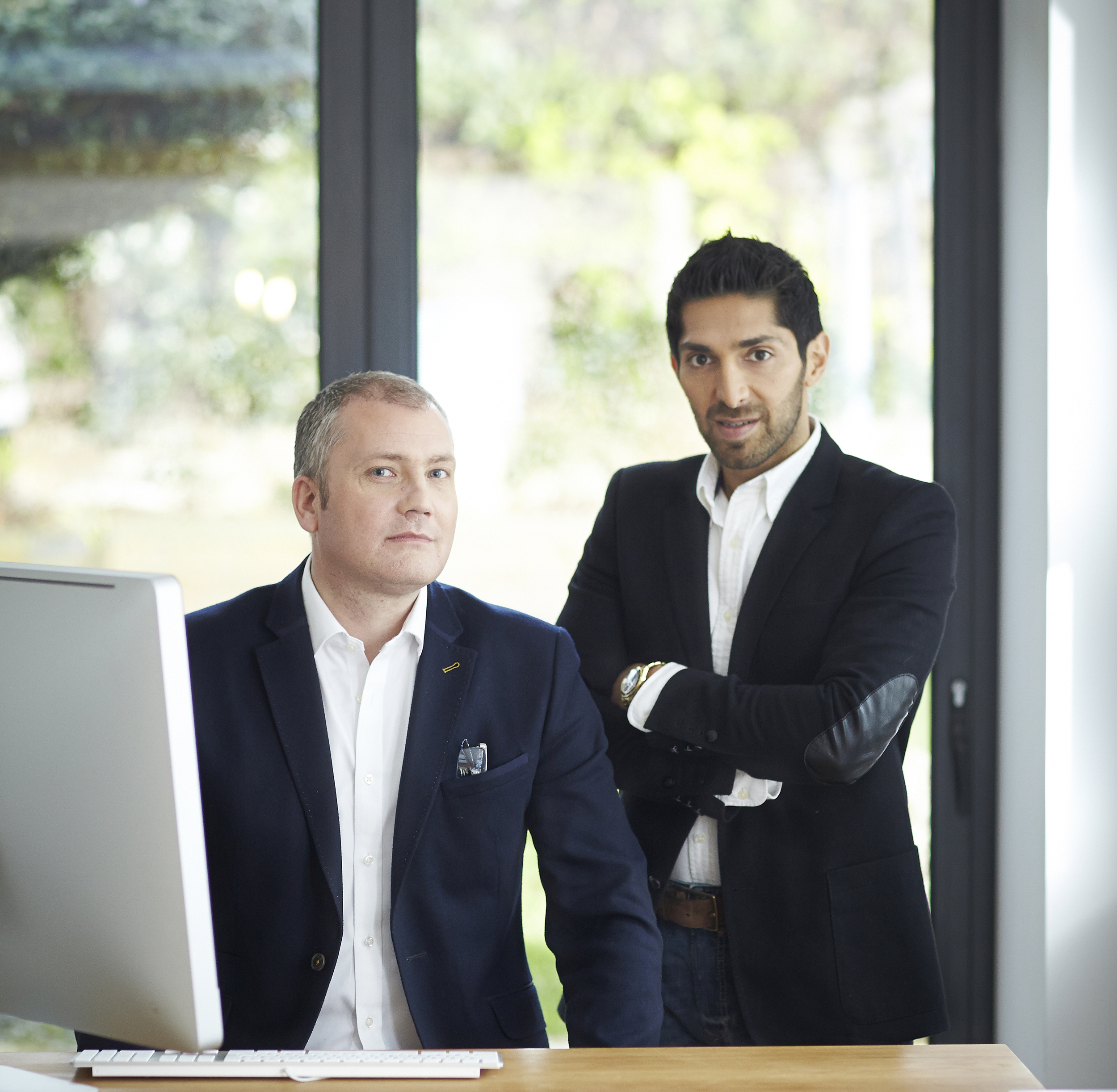 Faisal Butt with  http://www.emoov.co.uk  CEO Russell Quirk