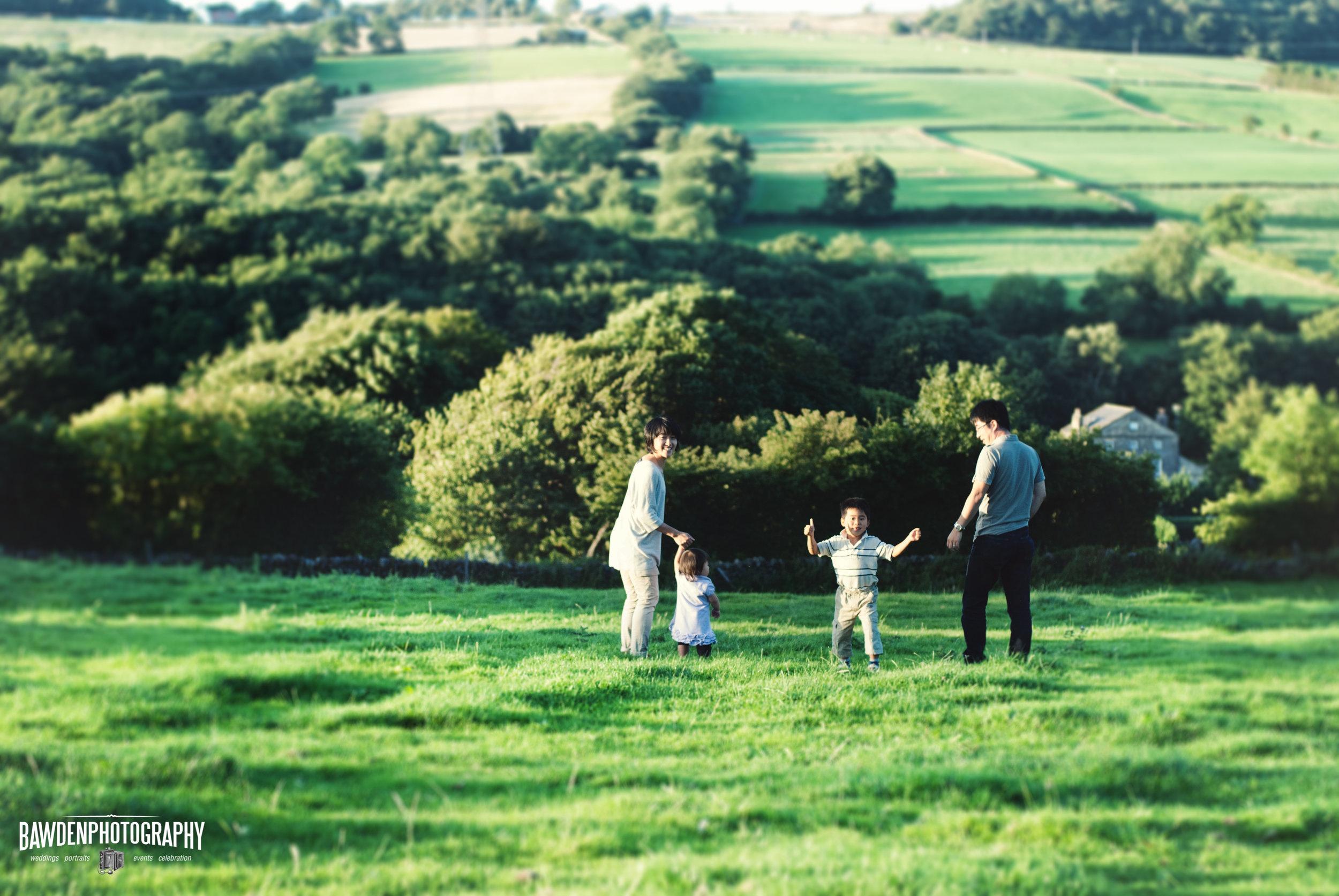 Family Portrait Photography Northwest UK