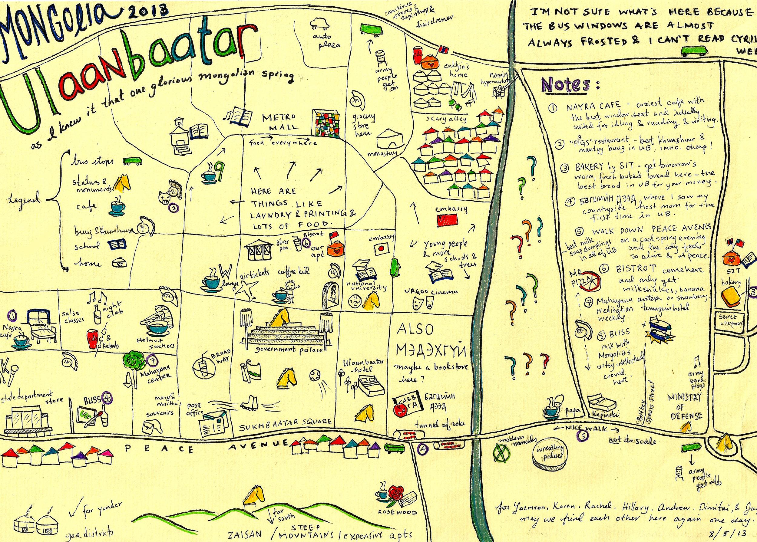 ulaanbaatar mapped by kening, 2013