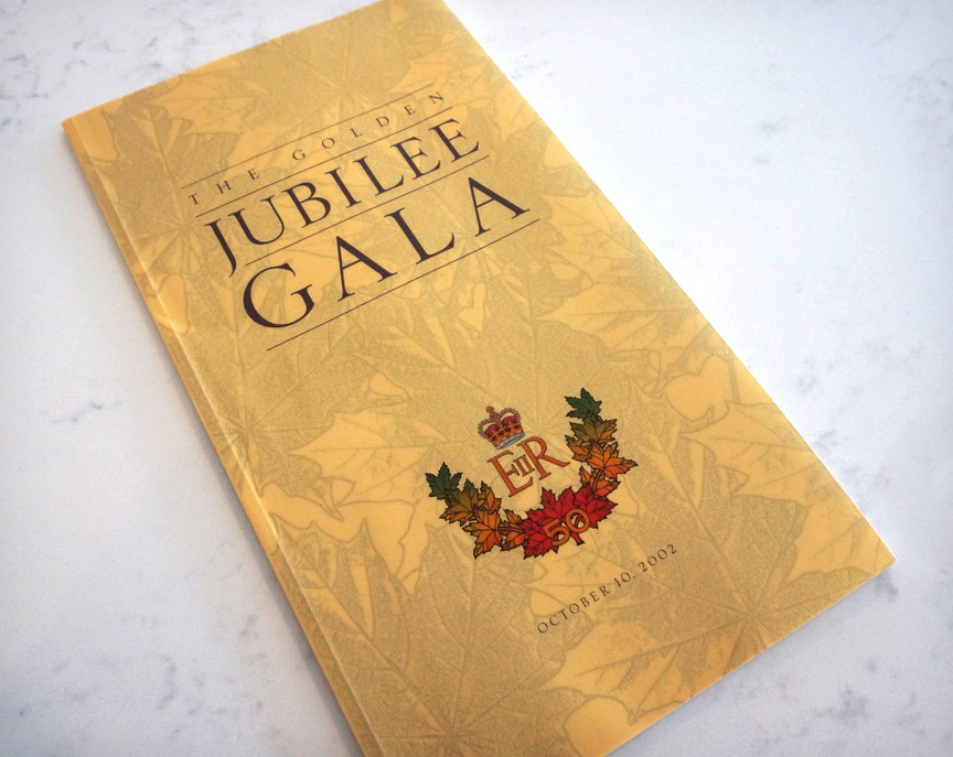 The Golden Jubilee Gala Program